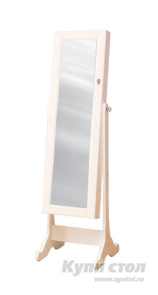 Напольное зеркало Smart bird Omi50  Белый