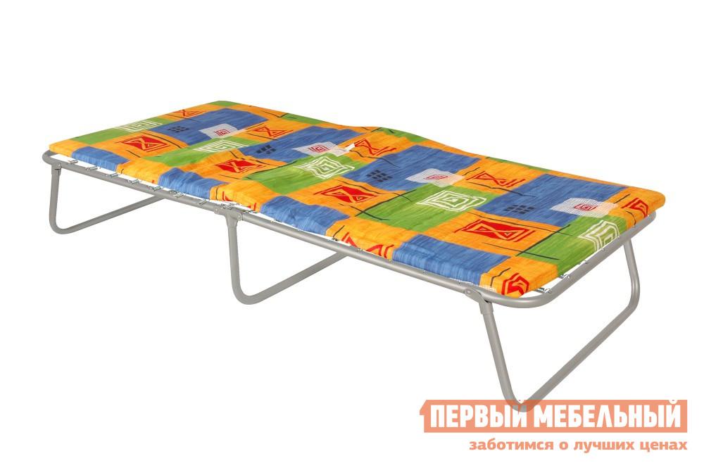 Раскладушка с матрасом Мебель Импэкс Кровать раскладная «Надежда»