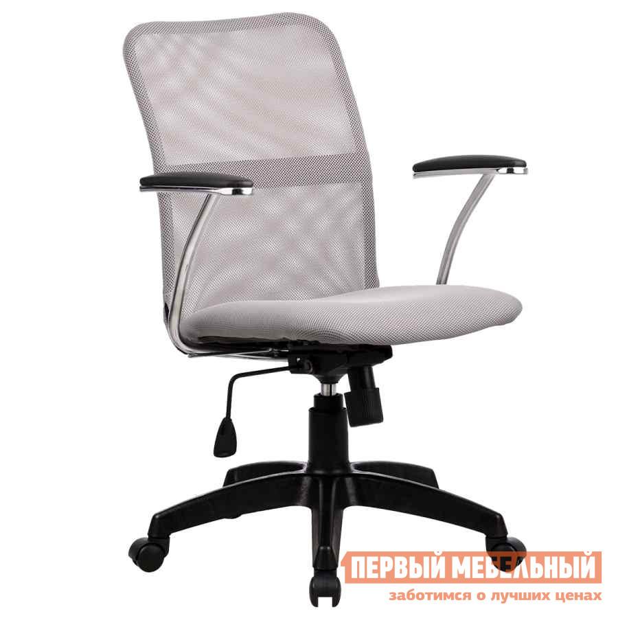 Купить со скидкой Офисное кресло Метта FK-8 PL Ткань-сетка № 24 стальная