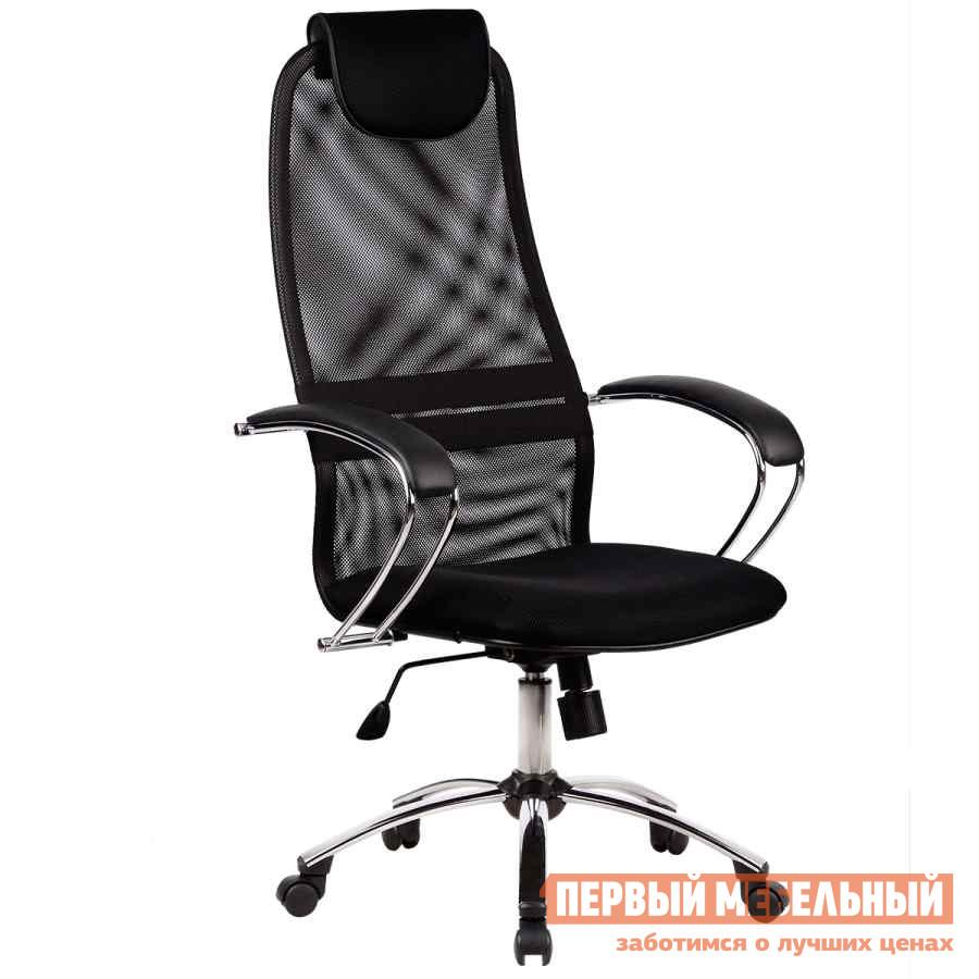 Кресло руководителя Метта BK-8 Ch Ткань-сетка № 20 черная