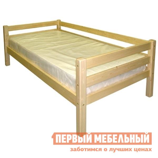 Угловая детская кровать-тахта с бортиками Добрый мастер К-1гс
