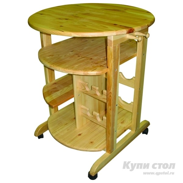 Сервировочный столик Добрый мастер ССт-1