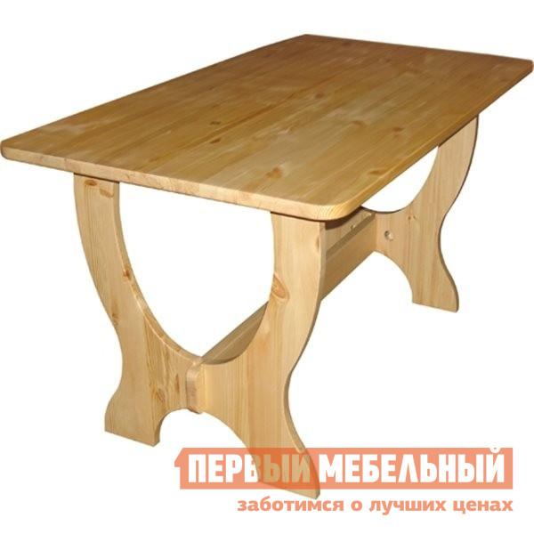 Кухонный стол Добрый мастер Ом-1200/1400/1600/1800/2000 Размер столешницы 2000 Х 800 мм, Массив сосны