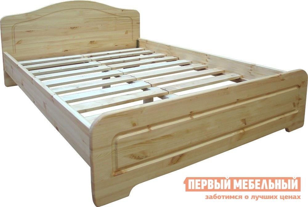 Двуспальная кровать из массива дерева Добрый мастер К-1у кровать из массива дерева leading home 1 8