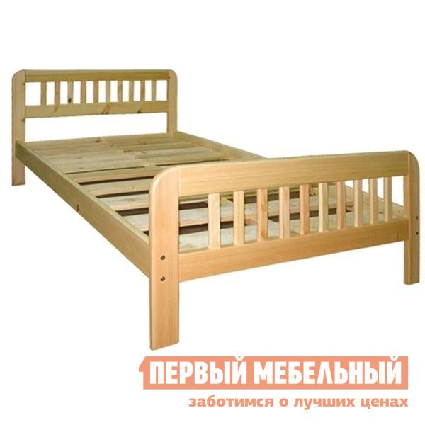 Кровать двуспальная из массива дерева Добрый мастер К-1г валериана форте n50 табл