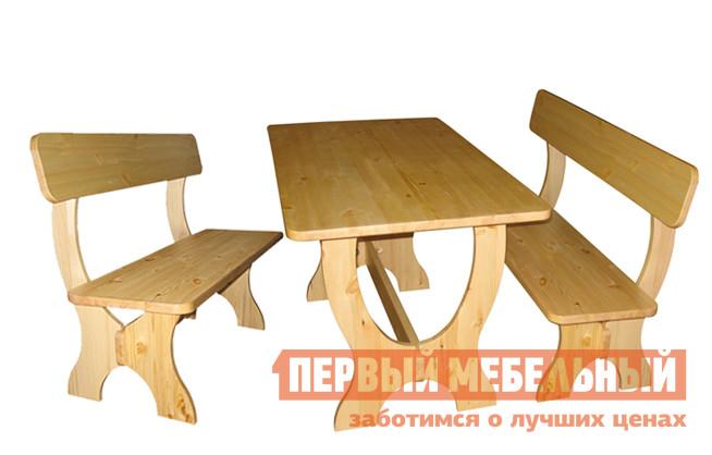 Комплект садовой мебели Добрый мастер Ом-лс + Ом комплект садовой мебели из сосны добрый мастер ом л ом лс ом