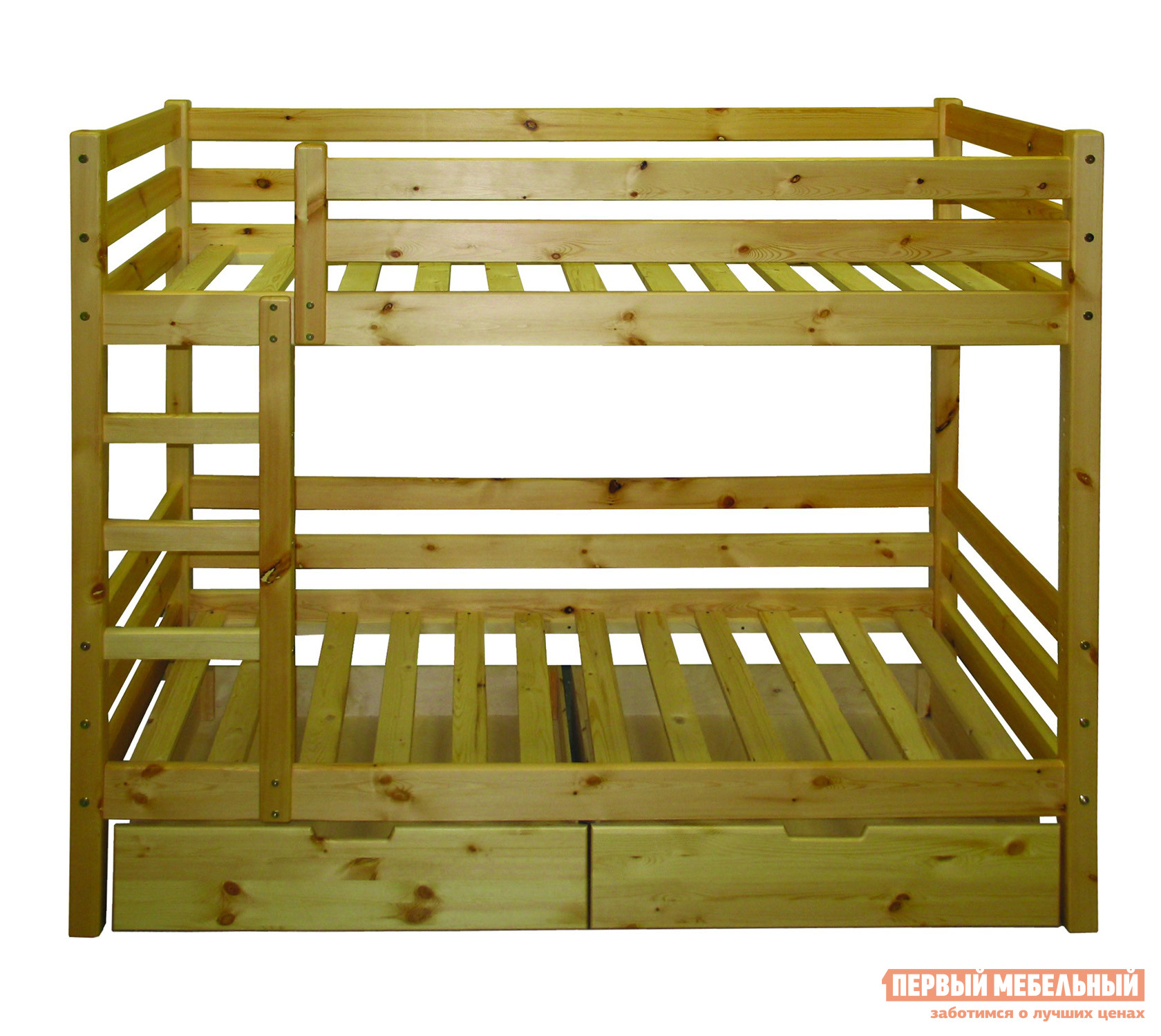 Кровать Добрый мастер К-2м Массив сосны
