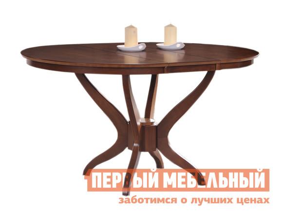 Обеденный стол Red and Black 2047 ШоколадОбеденные столы<br>Габаритные размеры ВхШхГ 740x1060 / 1360x1060 мм. Круглый раздвижной обеденный стол на четырех ножках придаст уюта гостиной или столовой комнате. Ширина столешницы увеличивается на 300 мм за счет вставки «бабочка», позволяя разместить большей гостей. Стол изготавливается из массива гевеи и МДФ.<br><br>Цвет: Коричневое дерево<br>Высота мм: 740<br>Ширина мм: 1060 / 1360<br>Глубина мм: 1060<br>Форма поставки: В разобранном виде<br>Срок гарантии: 6 месяцев<br>Тип: Раздвижные<br>Тип: Трансформер<br>Материал: Дерево<br>Материал: МДФ<br>Материал: Натуральное дерево<br>Порода дерева: Гевея<br>Форма: Круглые<br>Форма: Овальные<br>Размер: Маленькие