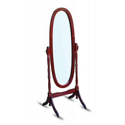 Напольное зеркало Red and Black 8007-Ch-MS Вишня