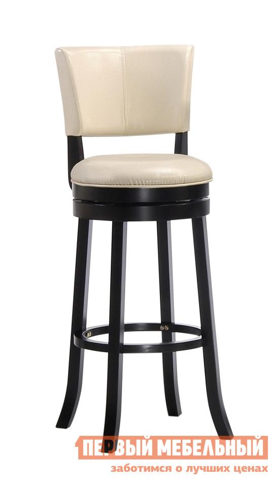 Барный стул Red and Black 9090 КапучиноБарные стулья<br>Габаритные размеры ВхШхГ 1100x430x430 мм. Стильный и элегантный барный стул с вращающимся механизмом будет гармонично смотреться как в классическом, так и в современном интерьере.  Модель идеально подходит для меблировки кухни, гостиной или барной зоны.  Деревянное кольцо, соединяющее ножки, будет служить удобной подставкой для ног, а мягкие сиденье и спинка обеспечат комфортный отдых. Диаметр сиденья — 430 мм. Высота от пола до сиденья — 800 мм. Каркас выполняется из массива гевеи, обивка на спинке и сиденье — искусственная кожа. Обратите внимание! Стулья поставляются комплектом по 2 штуки.  Цена указана за один стул.<br><br>Цвет: Коричневое дерево<br>Высота мм: 1100<br>Ширина мм: 430<br>Глубина мм: 430<br>Кол-во упаковок: 1<br>Форма поставки: В разобранном виде<br>Срок гарантии: 6 месяцев<br>Тип: Для кухни<br>Тип: Нерегулируемые<br>Тип: Высота сиденья 701-800мм<br>Материал: Дерево<br>Материал: Искусственная кожа<br>Материал: Натуральное дерево<br>Порода дерева: Гевея<br>Форма: Круглые<br>С мягким сиденьем: Да<br>Со спинкой: Да<br>С четырьмя ножками: Да