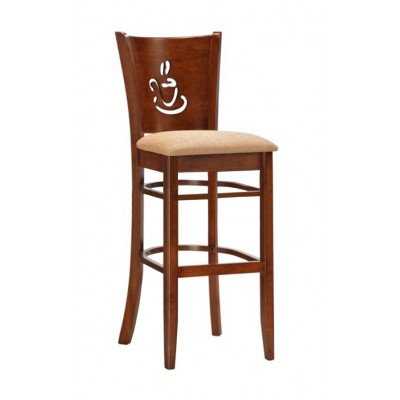Барный стул Red and Black 9131 Шоколад