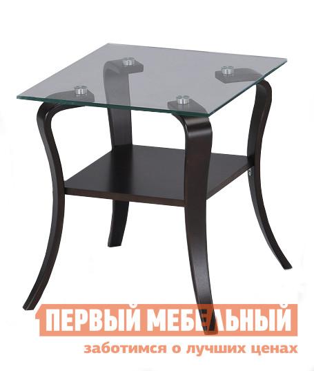 Журнальный столик со стеклянной столешницей Red and Black 0941-G SR