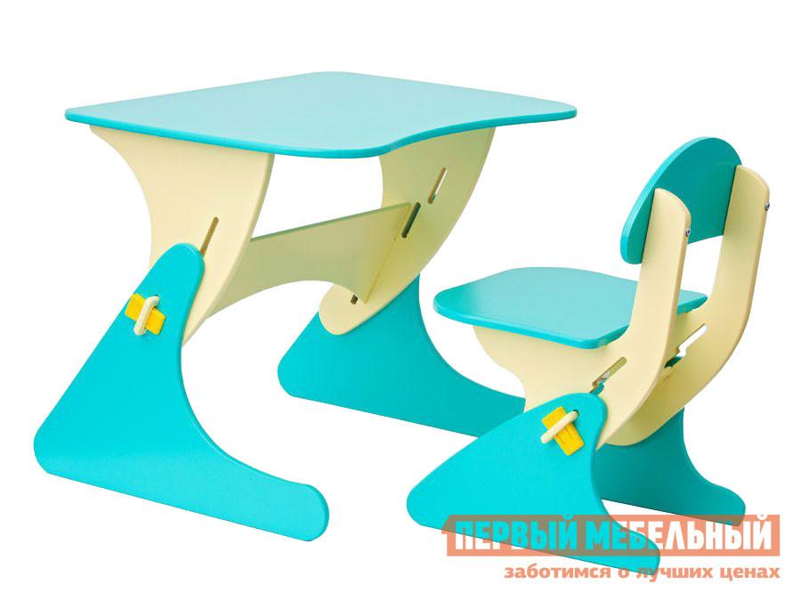 Столик и стульчик Новый Меридиан Комплект столика со стульчиком