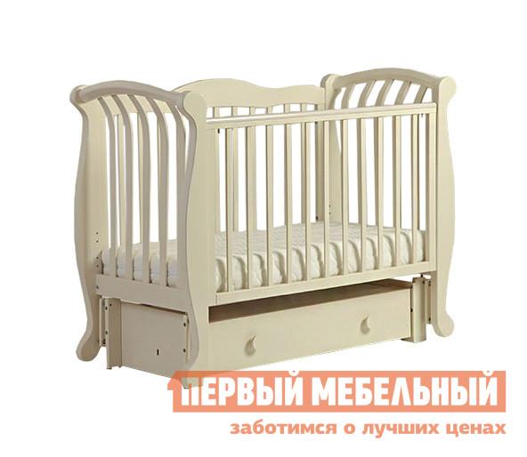 Кроватка Ковчег БИ 555.3 Магнолия