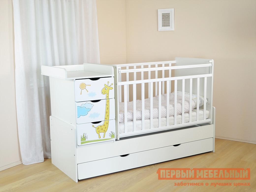 Кроватка Ковчег СКВ-5 52003x кроватка ковчег скв 5 54003x