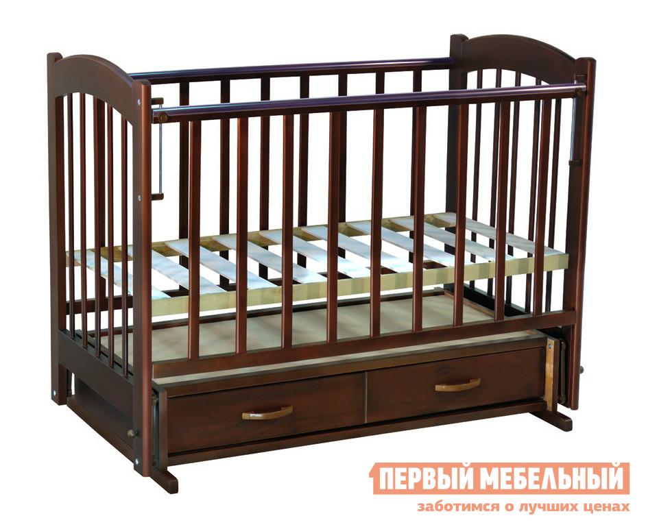 Кроватка Ковчег Радуга-4 попер. маятник обычная кроватка ведрусс радуга 4 орех