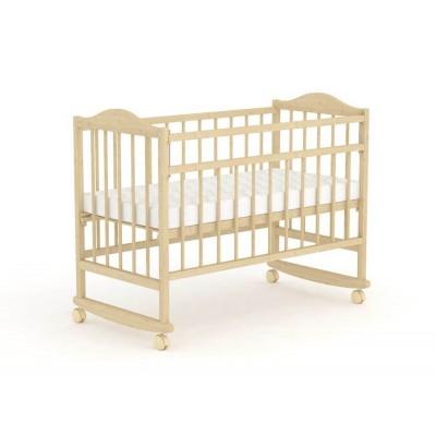 Кроватка Фея 204 Натуральный, Без матраса
