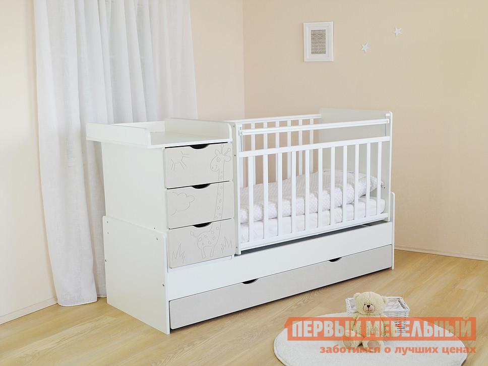 Кроватка Ковчег СКВ-5 54003x кроватка ковчег скв 5 54003x