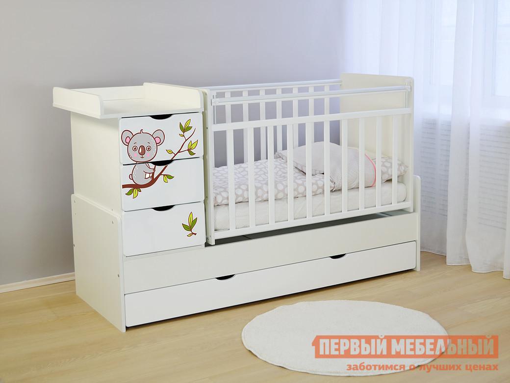 Кроватка Ковчег СКВ-5 52103x кроватка ковчег скв 9 94003x