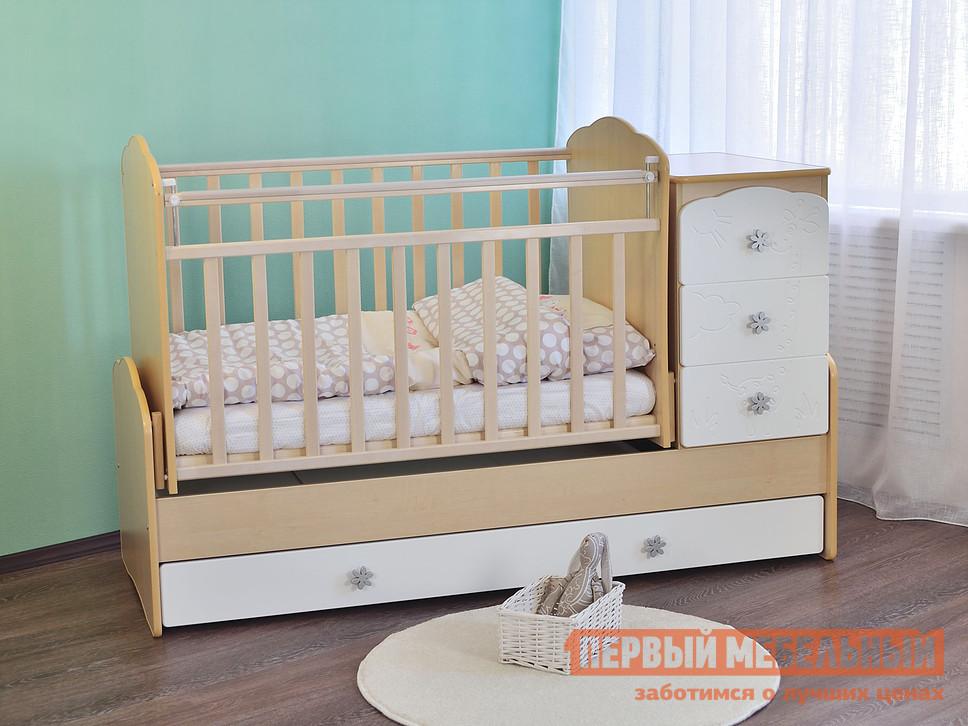 Кроватка Ковчег СКВ-9 94003x кроватка ковчег скв 9 94003x