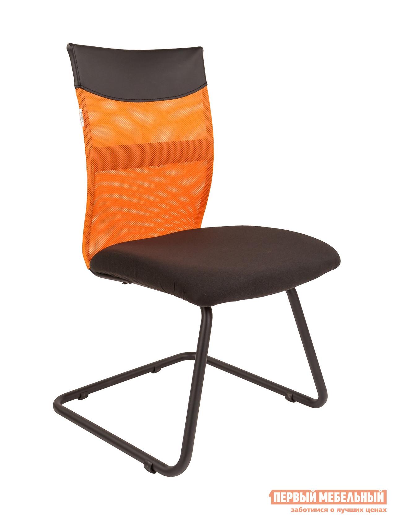 Офисный стул  РК 69 V TW черный / Сетка Оранжевый