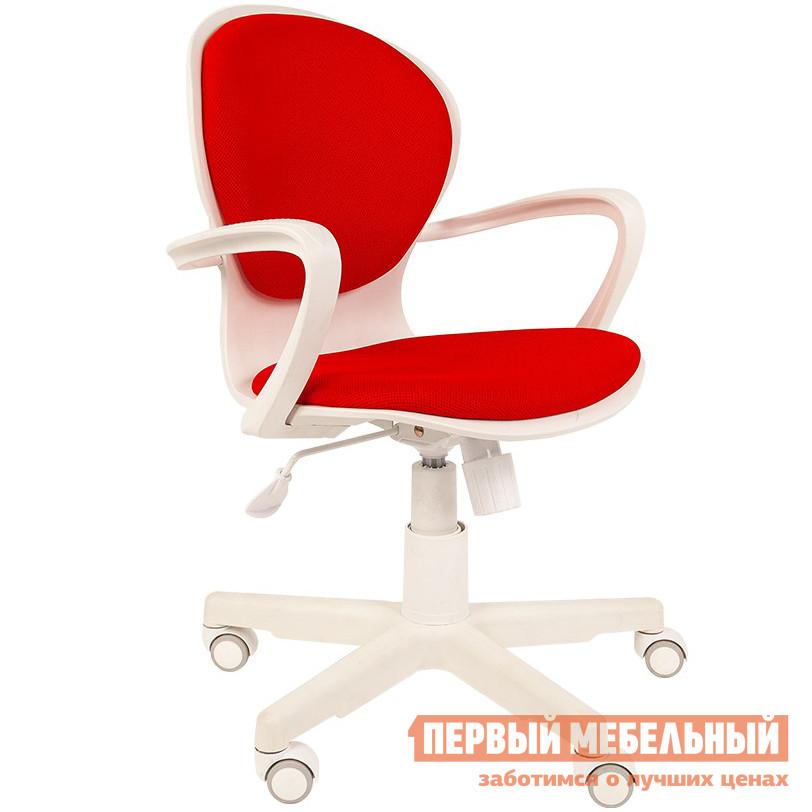 Офисное кресло  РК 14 белый пластик Красный TW