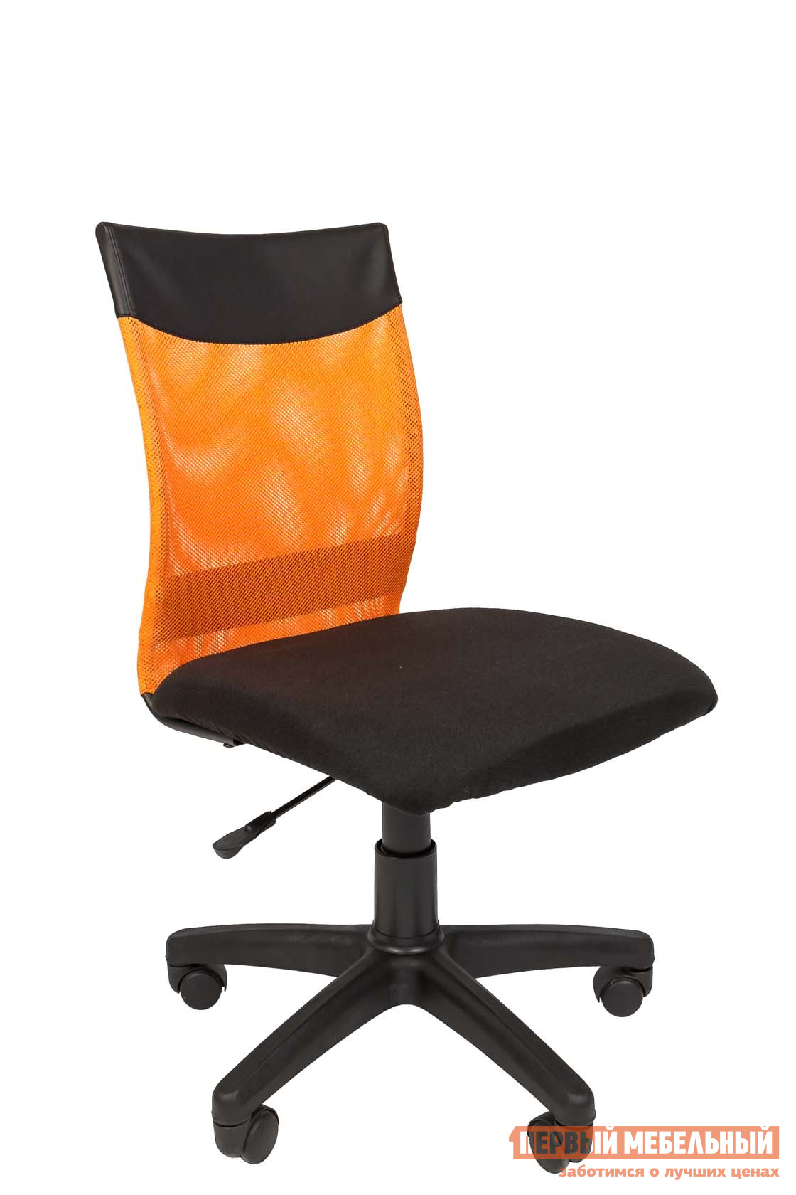 Офисное кресло  РК 69 Черный / Сетка оранжевая
