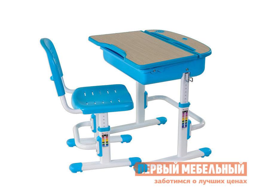 Парта Fun Desk Capri Blue (голубой)Парты<br>Габаритные размеры ВхШхГ 540 / 760x705x545 мм. Комплект мебели, который растет с вашим ребенком.  Изменяемые по высоте парта со стулом обладают эргономичной конструкцией и удобными регулировками, которые позволяют сформировать правильную осанку и сохранить отличное зрение. Парта имеет размеры (ШхГ): 705х545 мм, высота регулируется в пределах от 540 до 760 мм. Столешница с изменяемым до 6. 5° углом наклона идеально подойдет для чтения и письма.  Размер наклонной части (ШхГ): 705x373 мм, толщина — 18 мм. Мягкое и безопасное изменение угла наклона при помощи газлифта. Эргономичная форма с вырезом на передней части поможет правильно расположиться за партой. Все углы скруглены и безопасны. Имеется крючок для портфеля и специальное углубление в столешнице для канцтоваров. Вместительная полка для хранения книг, тетрадей и различных мелочей. Стул  имеет размеры (ШхГ): 390х418 мм, высота со спинкой регулируется в пределах от 653 до 793 мм, высота от пола до сиденья — в пределах от 330 до 440 мм. Сиденье и спинка имеют перфорацию для лучшего воздухообмена. Регулировка высоты стола и стула:  многоступенчатая механическая. При производстве используются исключительно экологически чистые и современные материалы.  Столешница выполнена из МДФ, цветные детали, сиденье и спинка стула — полипропилен, корпус — окрашенный металл. Рекомендуемый возраст для использования комплекта: от 3 до 12 лет.<br><br>Цвет: Синий<br>Высота мм: 540 / 760<br>Ширина мм: 705<br>Глубина мм: 545<br>Кол-во упаковок: 1<br>Форма поставки: В разобранном виде<br>Срок гарантии: 12 месяцев<br>Тип: Трансформер<br>Тип: Одноместные<br>Тип: Регулируемые<br>Тип: Растущие<br>Тип: Ортопедические<br>Назначение: Для дома<br>Назначение: Для дошкольников<br>Назначение: Детские<br>Материал: Металл<br>Материал: Пластик<br>Материал: МДФ<br>Со стулом: Да<br>Рост ребенка: Рост 115-130 см<br>Рост ребенка: Рост 130-145 см<br>Рост ребенка: Рост 145-160 см<br>Рост ребенка: Рост 160-175 см<br