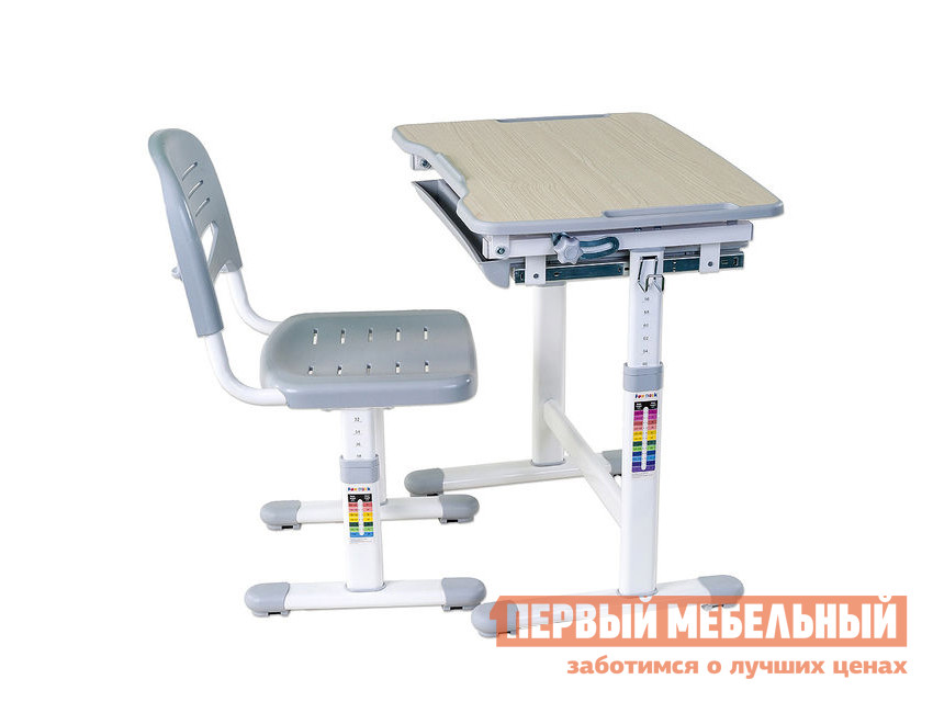 Парта Fun Desk PICCOLINO Grey (серый)