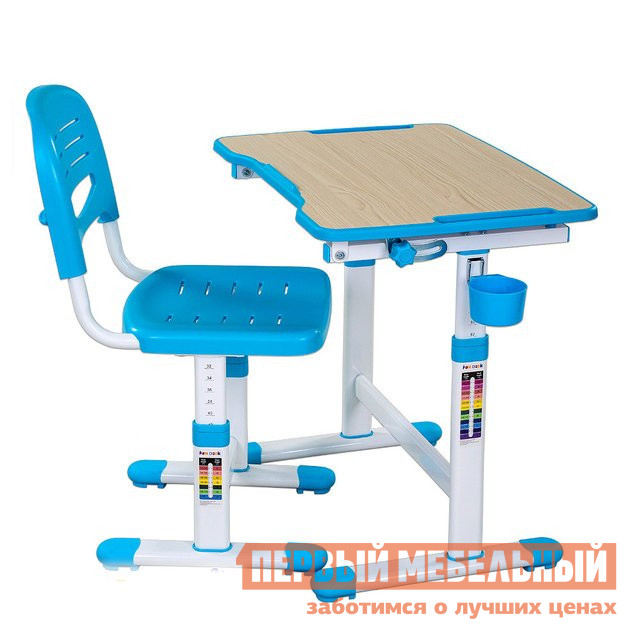Парта Fun Desk PICCOLINO II Blue (голубой)