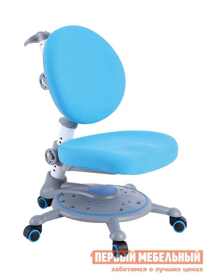 Компьютерное кресло Fun Desk SST1 Blue (голубой) Fun Desk Габаритные размеры ВхШхГ 680 / 930x710x600 мм. Яркое и практичное кресло Фанни SST1 обладает всеми необходимыми для правильного развития ребенка качествами.  <br />Эргономичная форма сиденья дополняется регулировками по высоте и удобной пластиковой подножкой.  <br />Вы можете варьировать высоту сиденья в зависимости от роста ребенка в пределах от 310 мм до 460 мм, а спинка регулируется по высоте от 680 мм до 930 мм. <br>Сиденье и спинка обиты качественным полиэстером, который устойчив к внешним воздействиям и легко очищается от загрязнений.  Наполнены мягкие элементы пенополиуретаном. <br>Для безопасной работы за столом на колесиках предусмотрены стопоры, которые предотвратят случайные откатывания. <br>Кресло Фанни подойдет для использования как дошкольникам, так и младшеклассникам. <br>