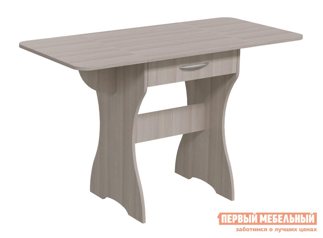 Кухонный стол Гранд Кволити 6-02.120 Ясень Шимо светлый
