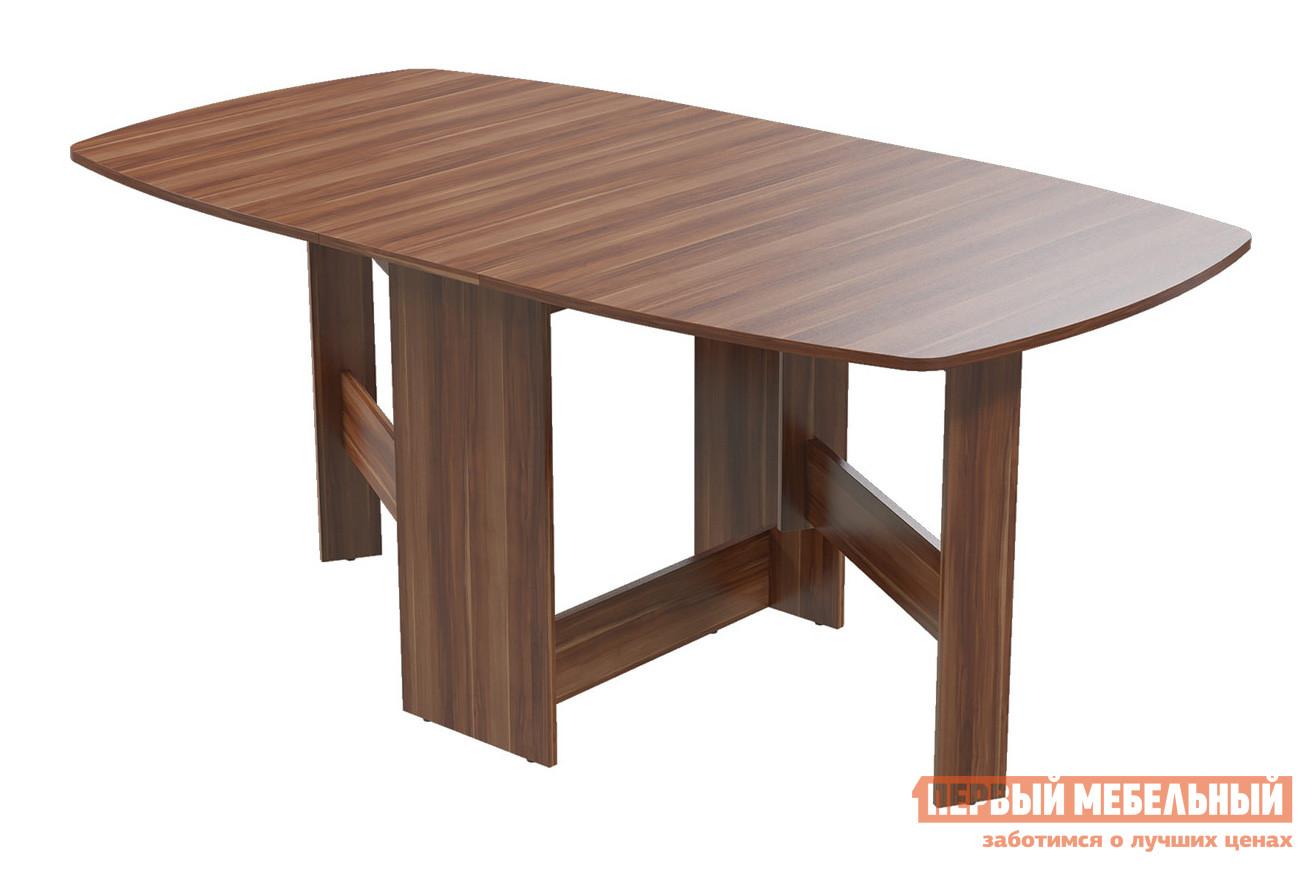 Овальный стол-книжка обеденный раздвижной Бит и Байт 1-65М1