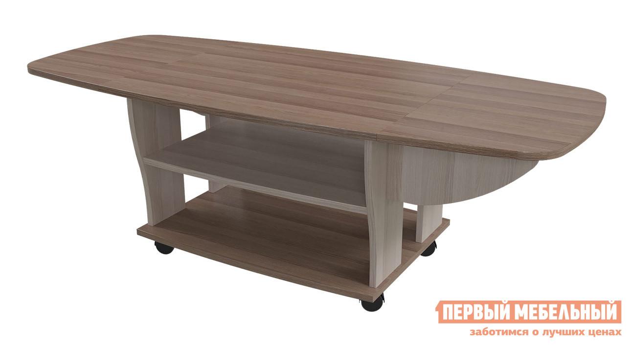 Журнальный столик овальный Бит и Байт 6-0212 стенка для гостиной бит и байт 6 559