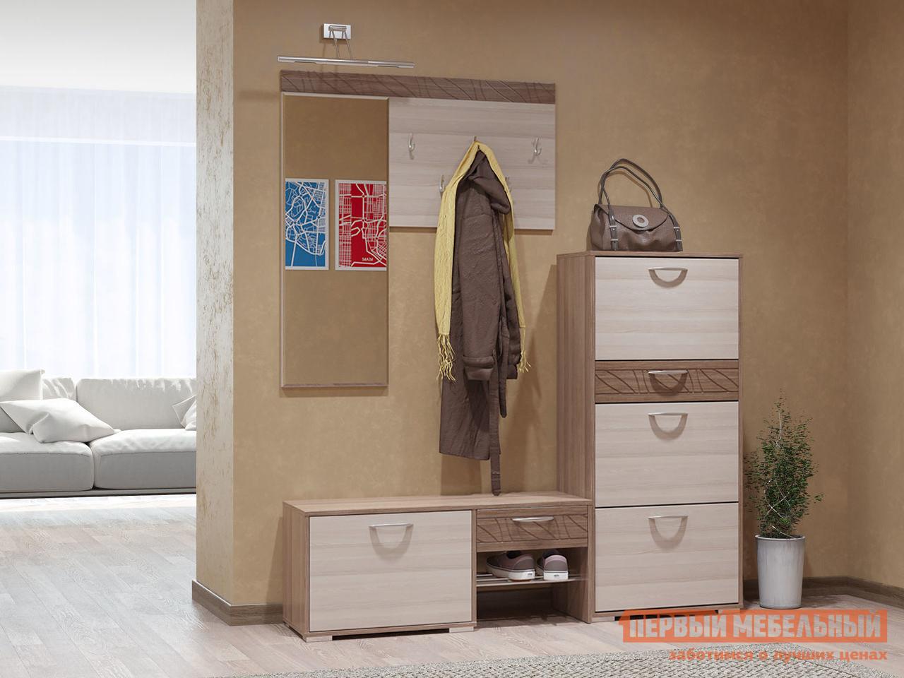 Прихожая в коридор Бит и Байт Трио ГК К1 спальный гарнитур трия саванна к1