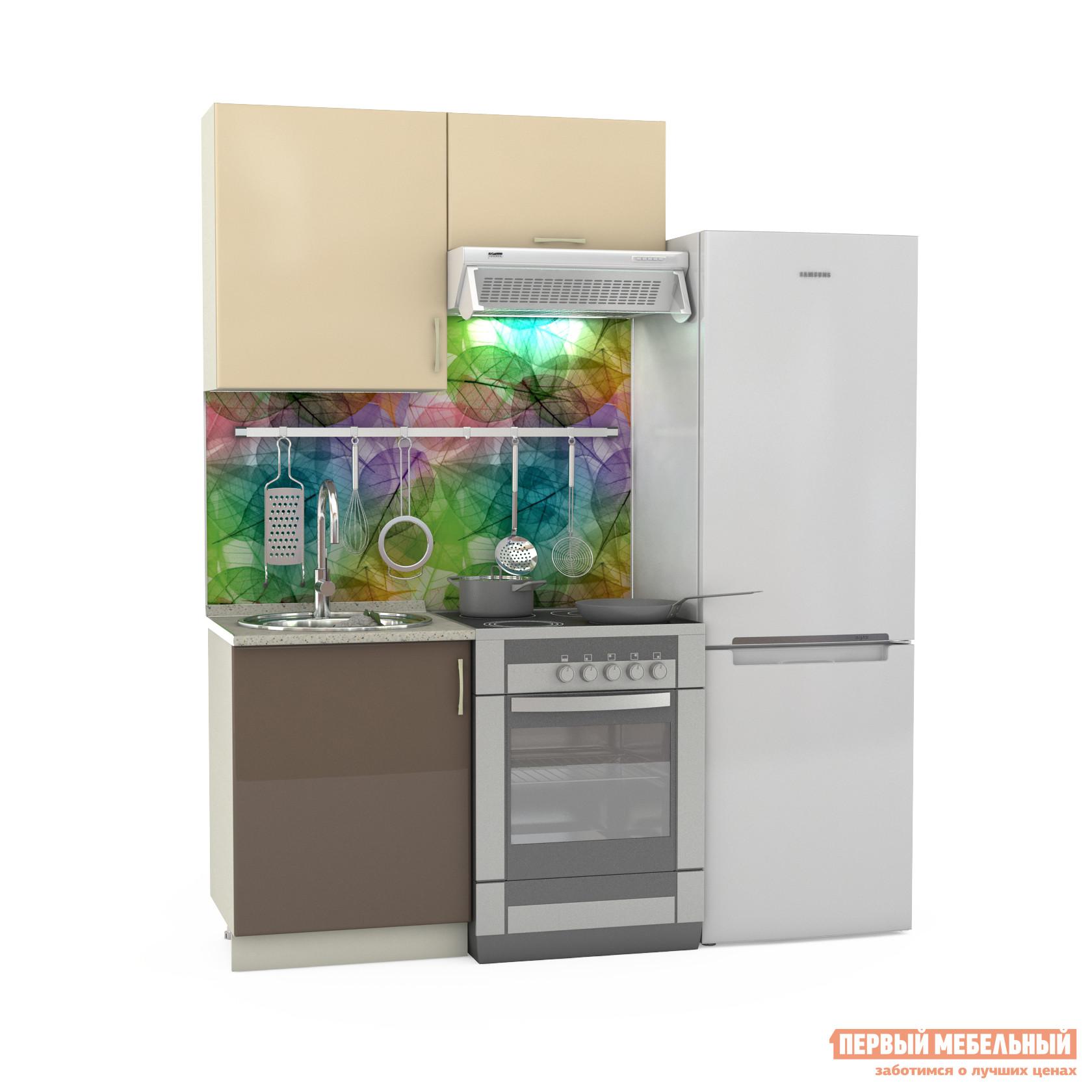 Кухонный гарнитур Бит и Байт Сандра-1 120 см кухонный гарнитур трия оливия 240 см