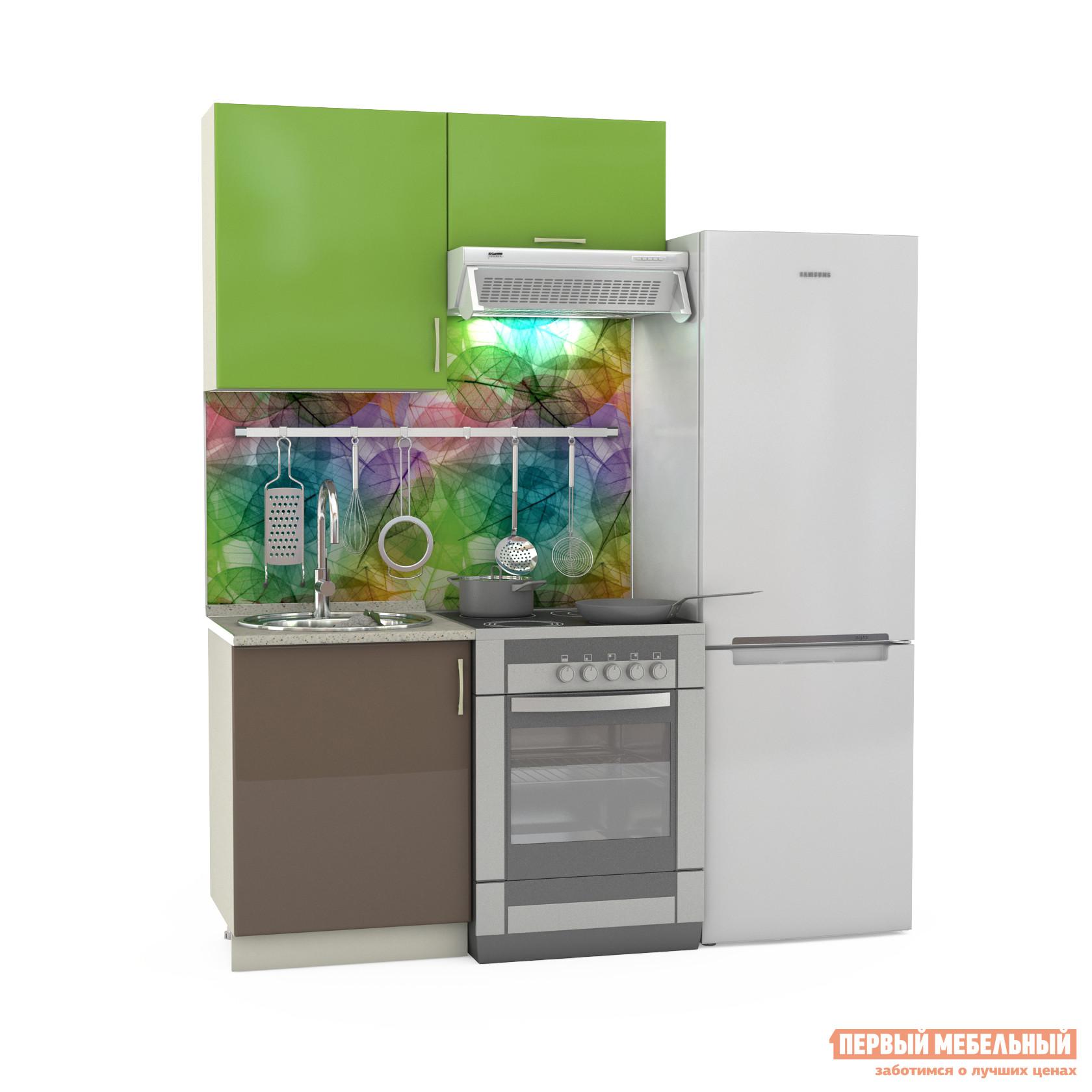 Кухонный гарнитур Бит и Байт Сандра-2 120 см кухонный гарнитур трия оливия 240 см