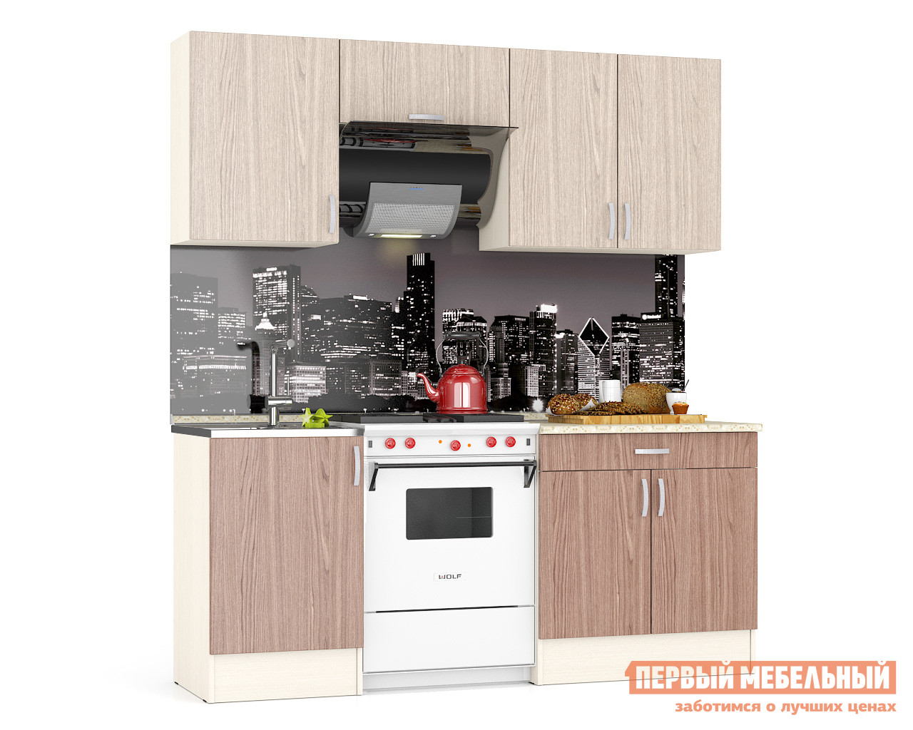 Кухонный гарнитур Бит и Байт Mery кухонный гарнитур трия фэнтези 120 см