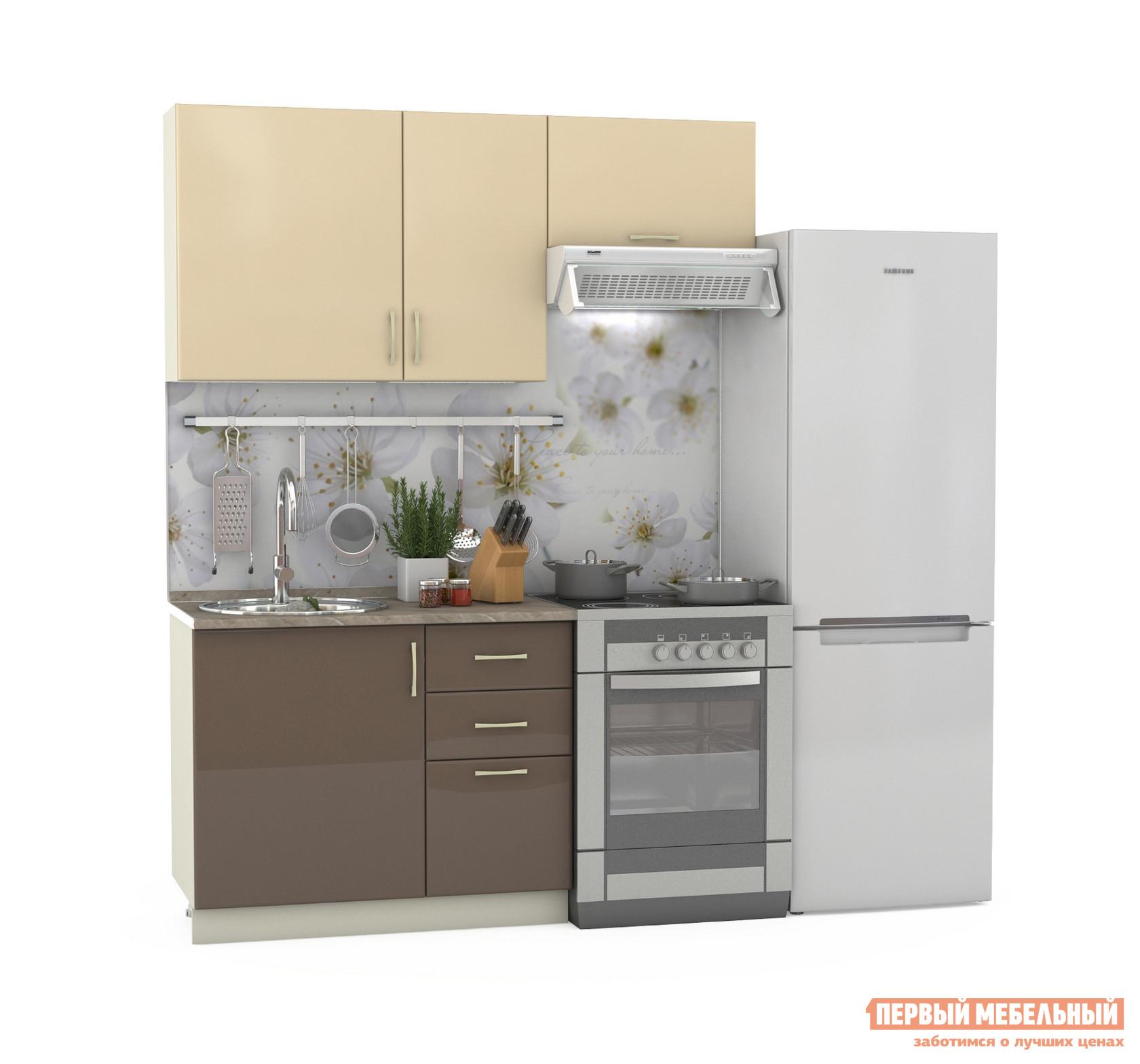 Кухонный гарнитур Бит и Байт Сандра-1 160 см кухонный гарнитур латте 1 1