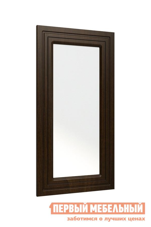 Настенное зеркало Compass МБ-12 Корпус венге темный / Фасад орех шоколадный