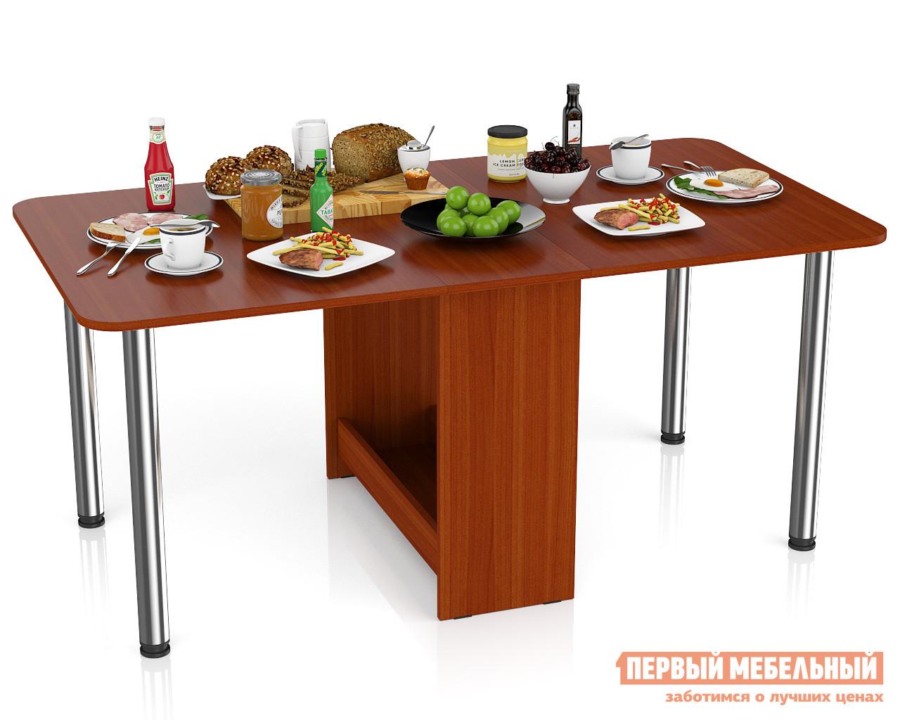 Стол-книжка Мебельный Двор Стол-книжка обеденный МД-СО-04 Яблоня