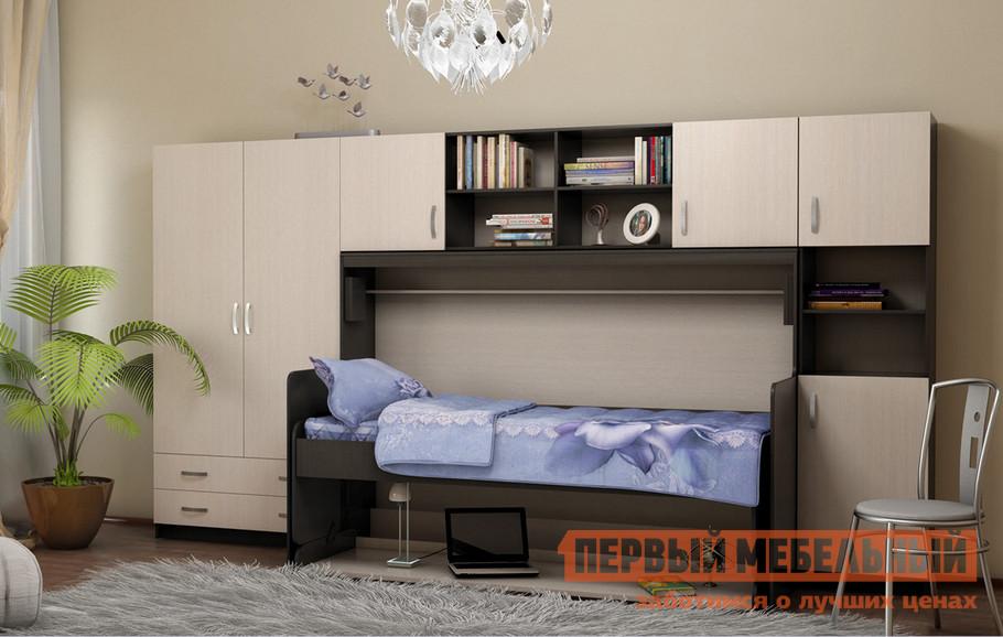 Детская кровать Бит и Байт МК-1 + МК-2 + МК-3 + Стол-кровать «Трансформер»