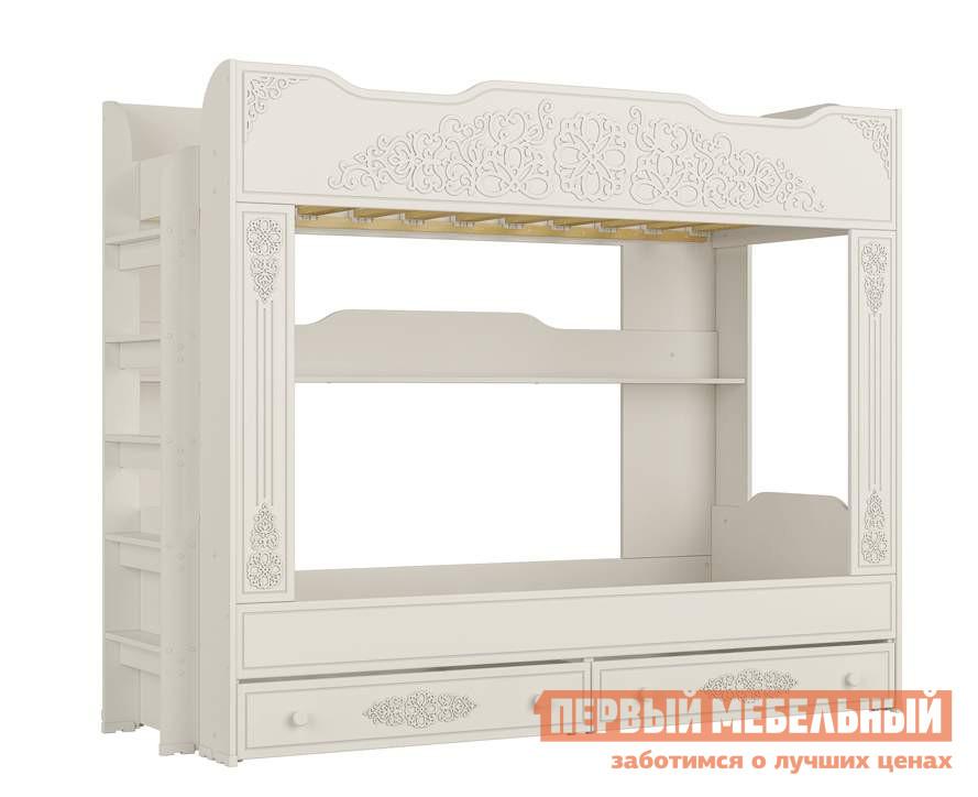 Кровать Compass АС-25 Белое дерево, Без матрасов