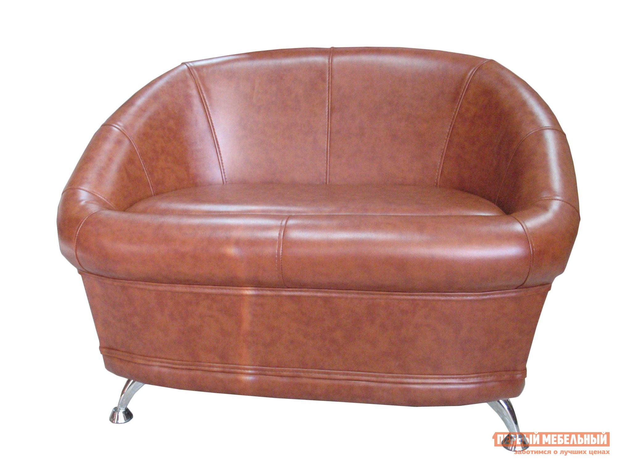 Банкетка Гранд Кволити 6-5154 Коричневая иск. кожа
