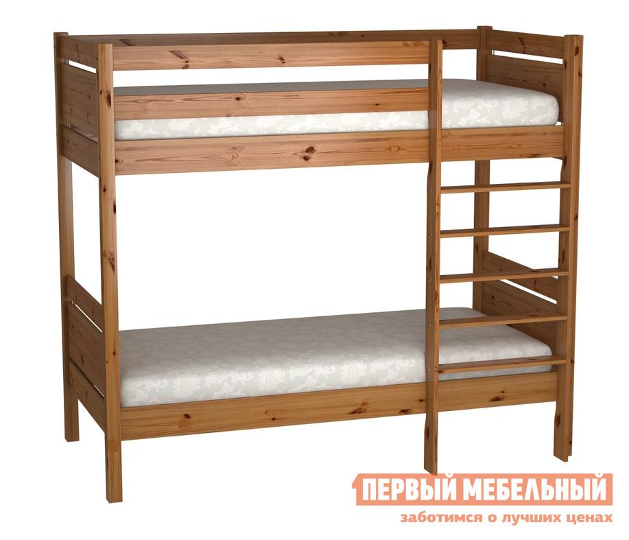 Двухъярусная кровать Timberica Кровать 2-ярусная Брамминг кровать полуторка timberica эрика