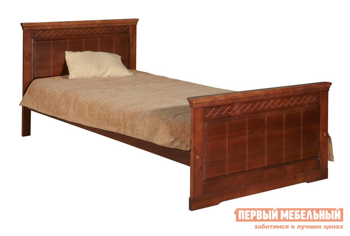 Односпальная кровать Timberica Дания Кровать №1 кровать полуторка timberica эрика