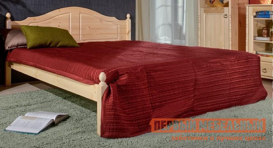 Двуспальная кровать из дерева Timberica Кая (K1) кровать чердак из массива дерева timberica кровать верхнеярусная 3 классик