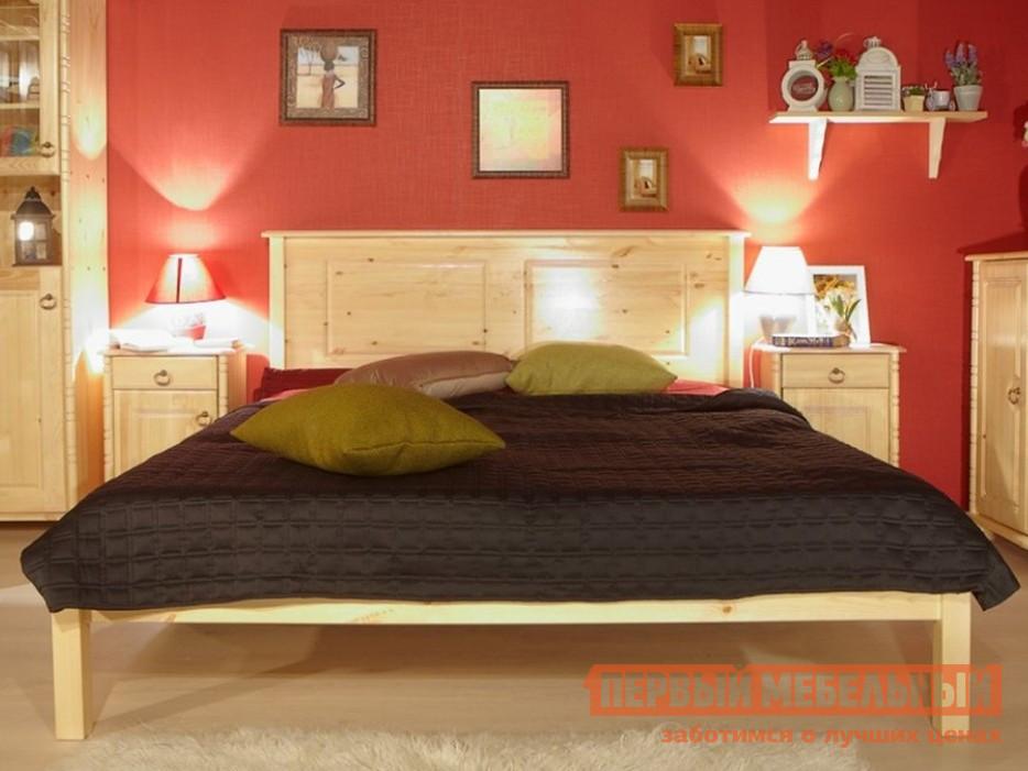 Двуспальная кровать из массива дерева Timberica Тора (T1) кровать чердак из массива дерева timberica кровать верхнеярусная 3 классик