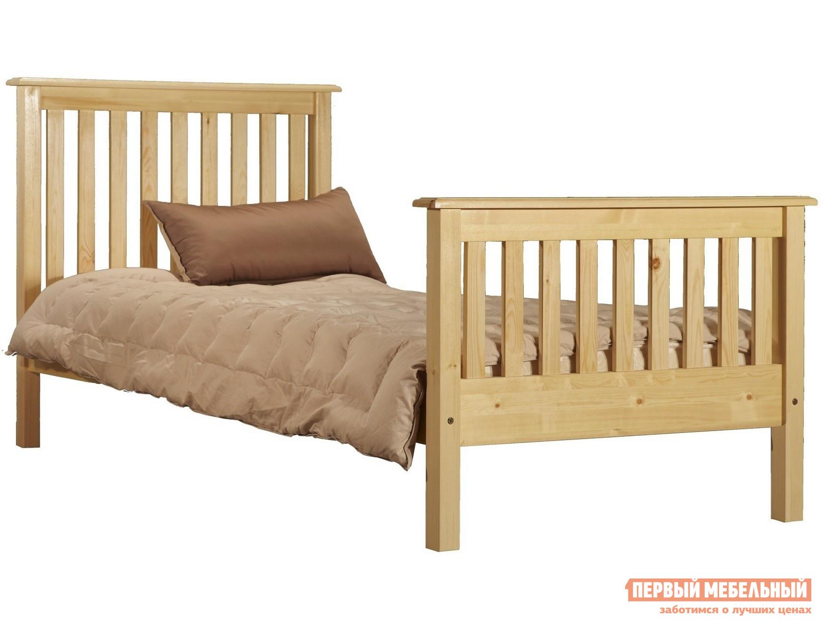 купить Деревянная двуспальная кровать Timberica Рина (R2) по цене 13160 рублей