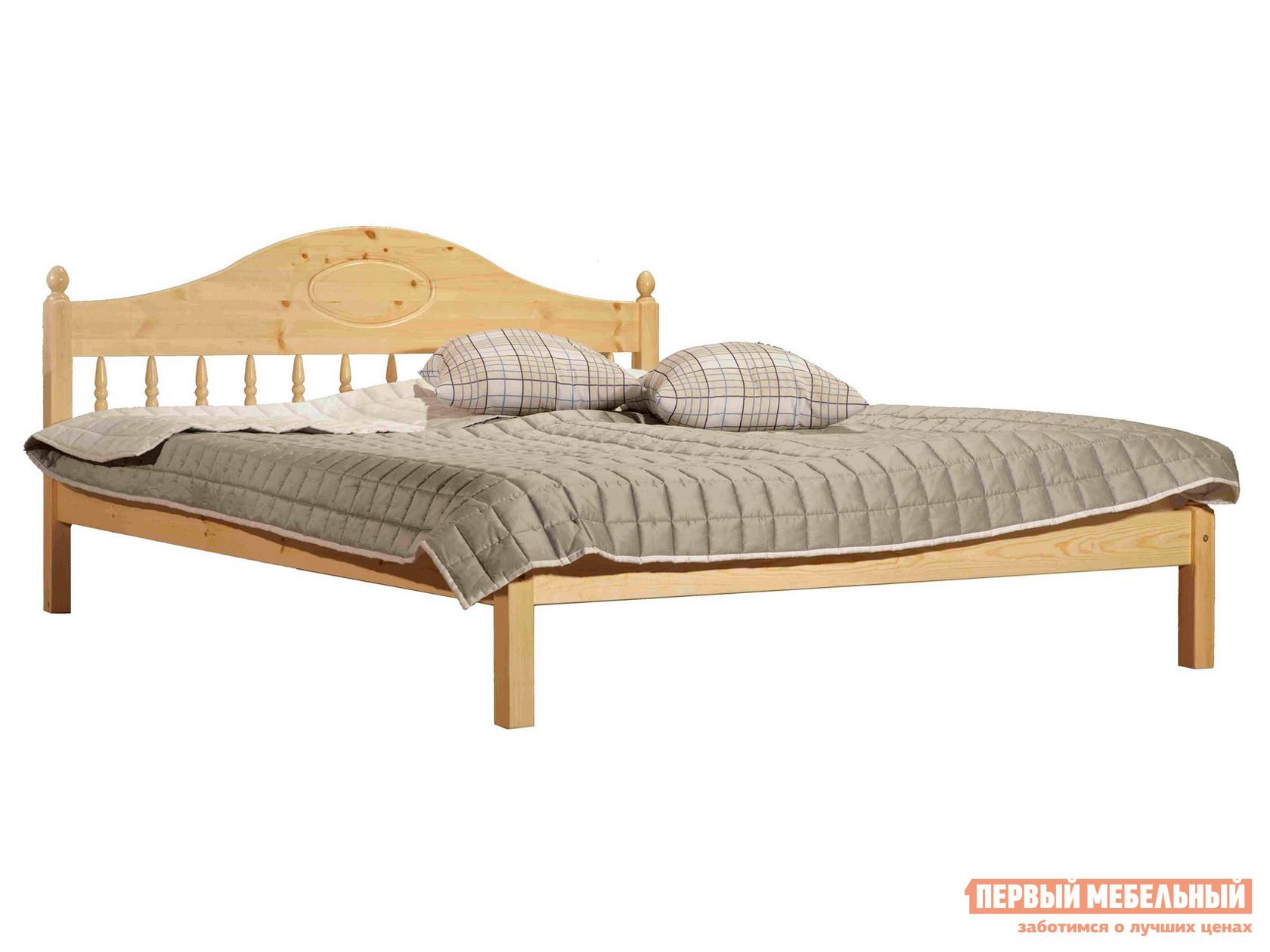 Двуспальная кровать из массива дерева Timberica Фрея (F1)